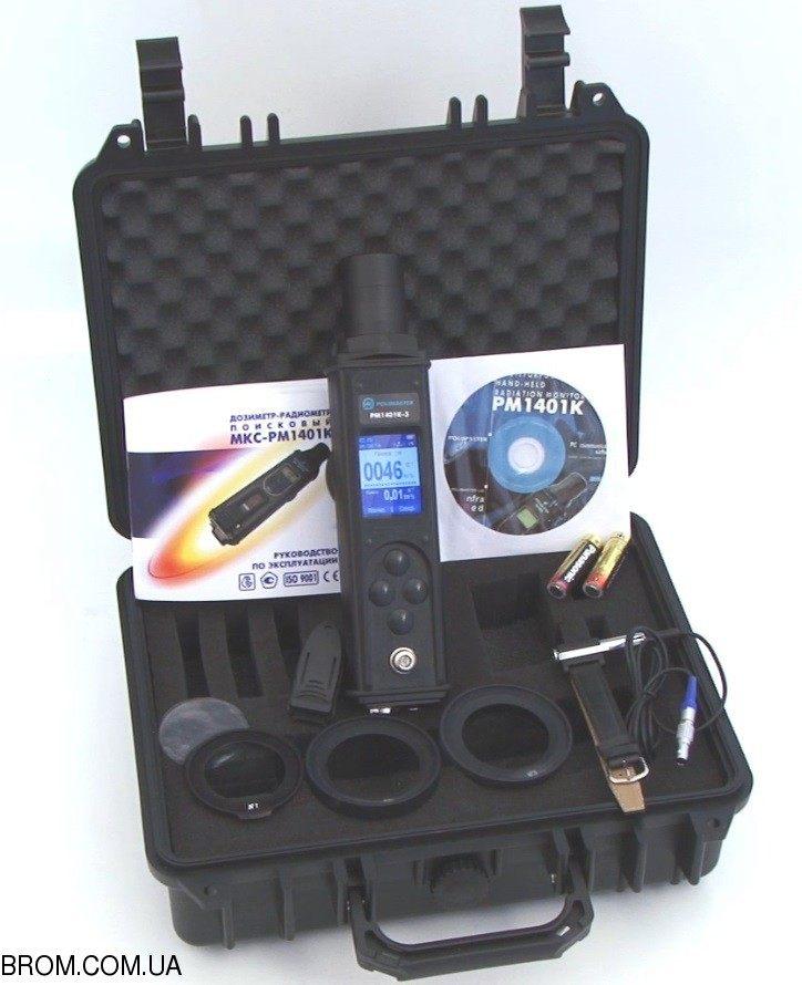 Дозиметр-радіометр пошуковий МКС-РМ1401К-3М - 1