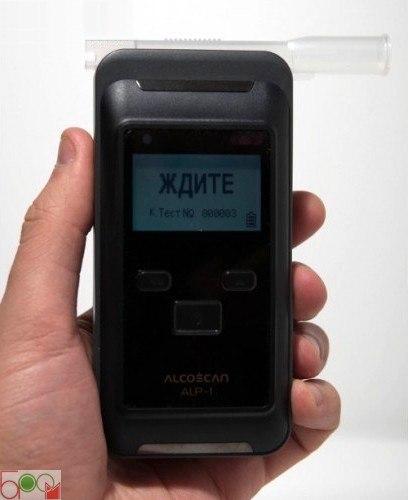 """Алкотестер """"Alcoscan ALP-1"""" с принтером - 4"""