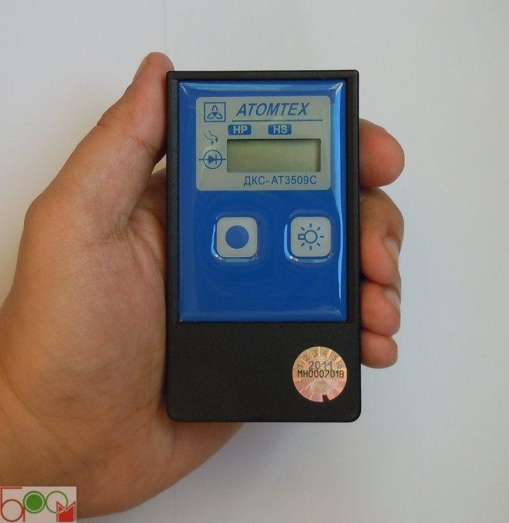 Индивидуальный дозиметр ДКС-АТ3509С АТОМТЕХ - 3