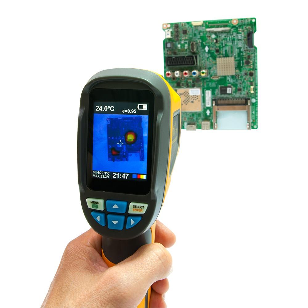 """Тепловізор - термографічна камера Xintest """"HT-02"""" (60x60, 2.4"""", -20...300℃) - 6"""