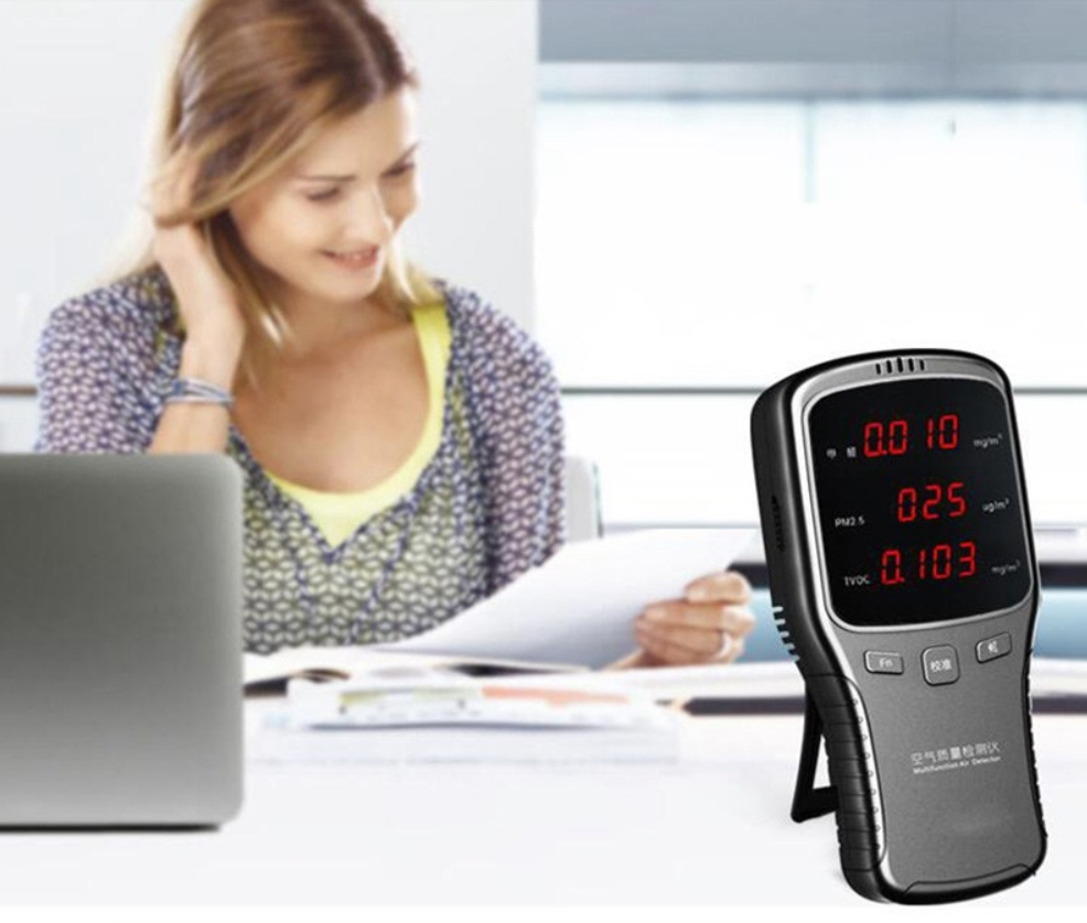 Цифровий детектор формальдегіду - аналізатор якості повітря WP6910 - 3