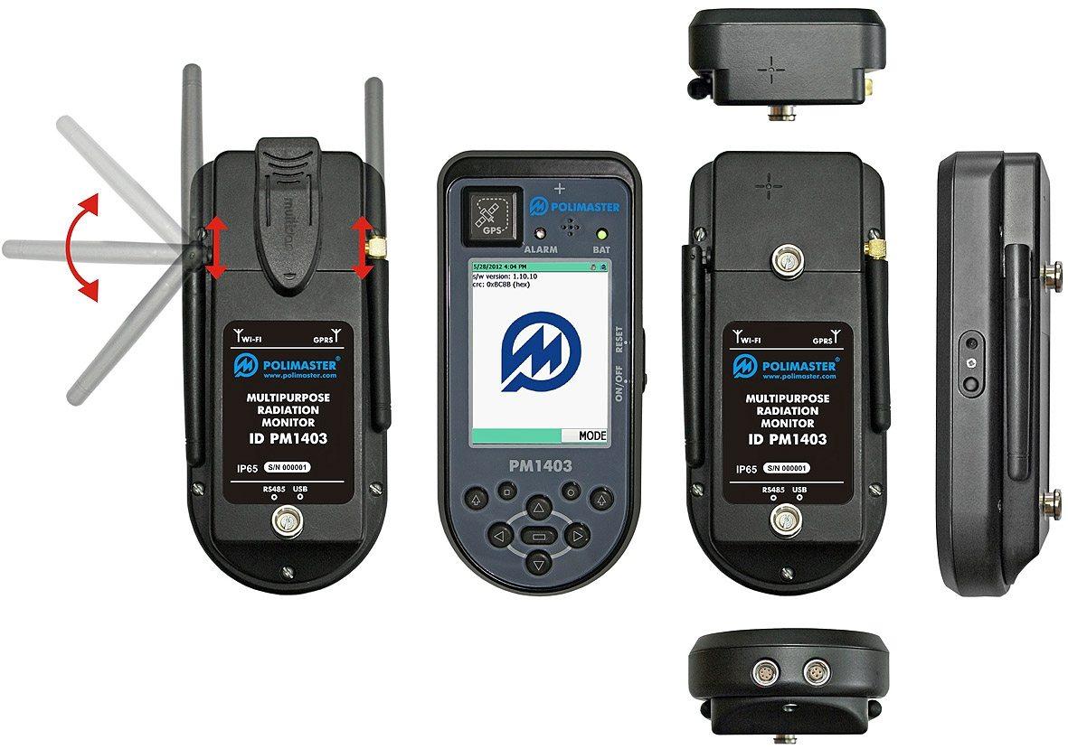 Дозиметр-радиометр поисковый МКС-РМ1403 - 2