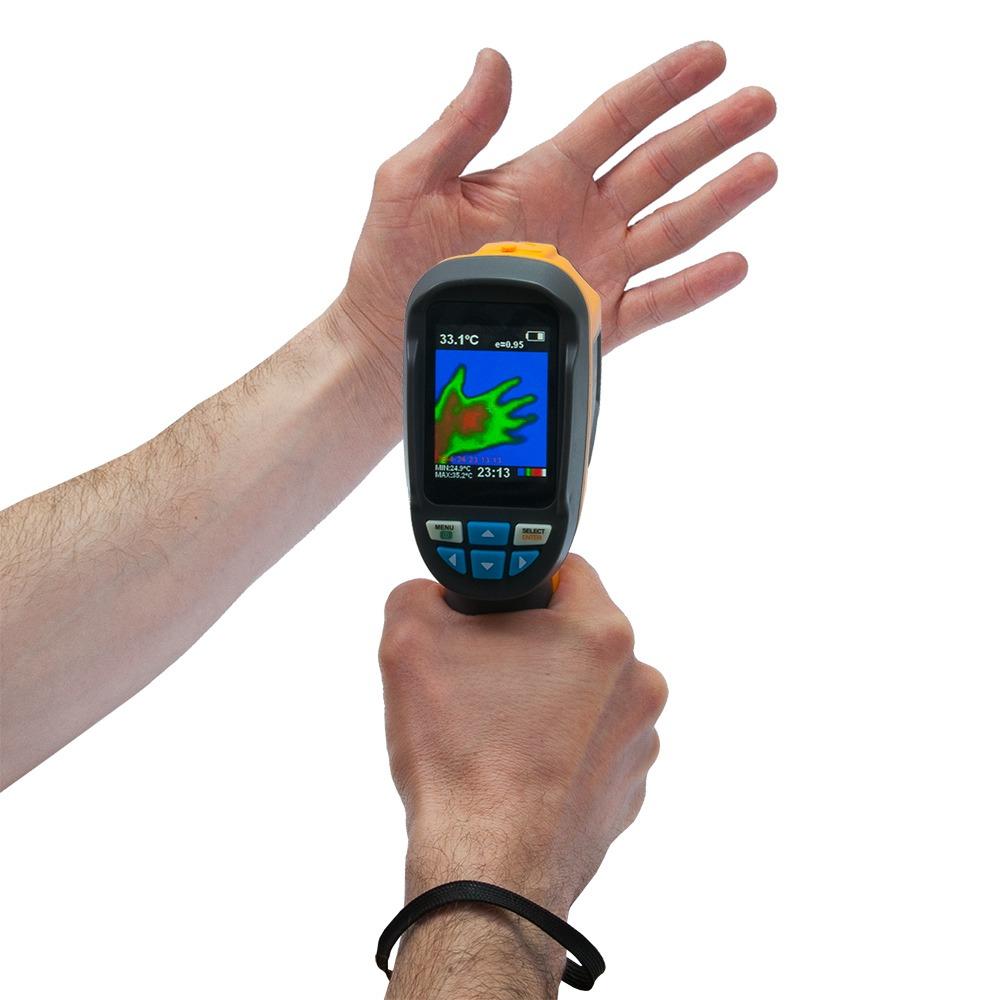 "Тепловизор - термографическая камера Xintest ""HT-02D"" (32x32, 2.4"", -20...300℃) - 7"