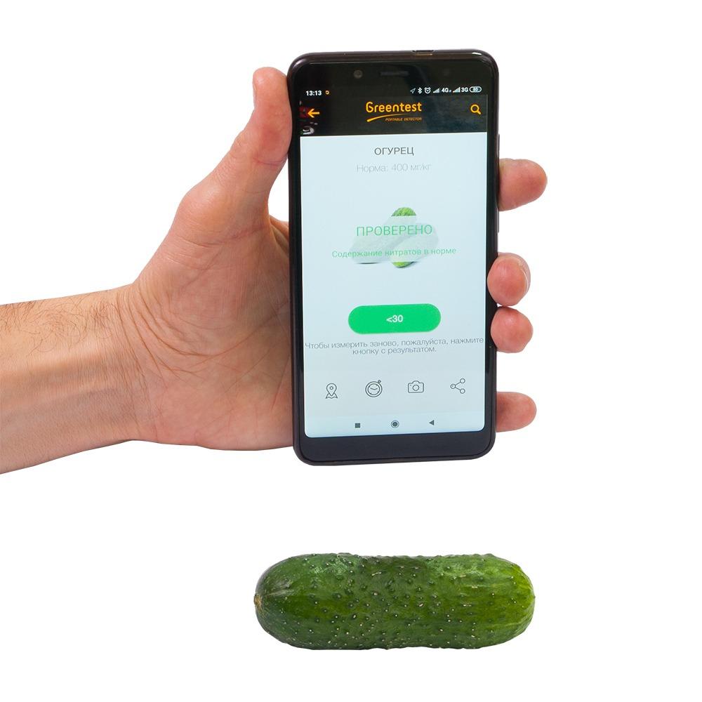 """Побутовий нітрат-тестер ANMEZ """"Greentest-Eco Mini"""" + дозиметр + тестер води - 6"""