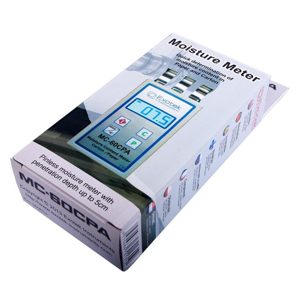 "Влагомер бумаги и картона Exotek ""MC-60CPA"" - 3"