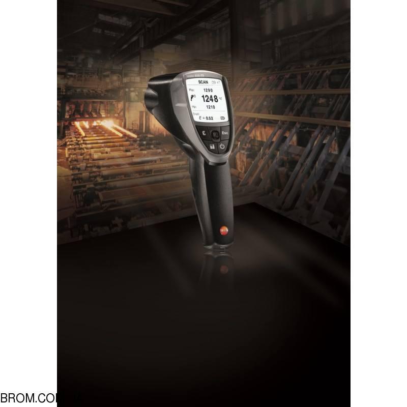 Инфракрасный термометр - пирометр testo 835-T2 (-10...+1500) - 3
