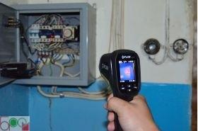 Інфрачервоний тепловізор - пірометр FLIR TG165 (-25...380 ºС) - 7