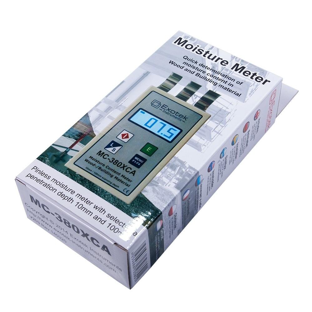 Профессиональный СВЧ влагомер древесины и стройматериалов EXOTEK MC-380XCA - 5