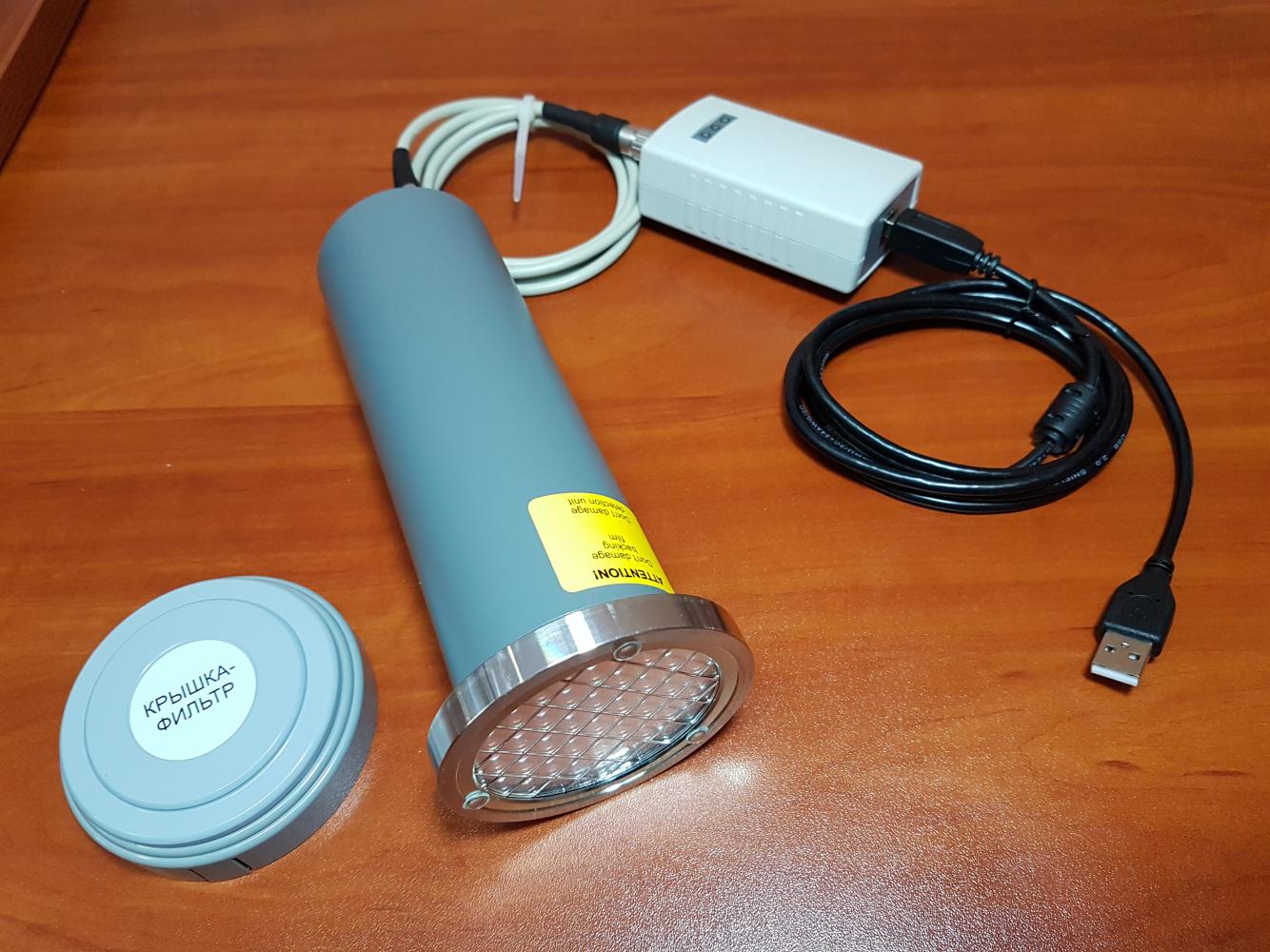 Дозиметр радиометр МКС-АТ1117М с внешним блоком детектирования альфа излучения БДПА-01 - 2