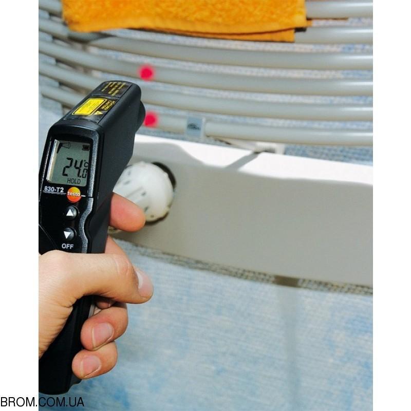 Інфрачервоний термометр - пірометр testo 830-Т2 (-30...+400) - 4