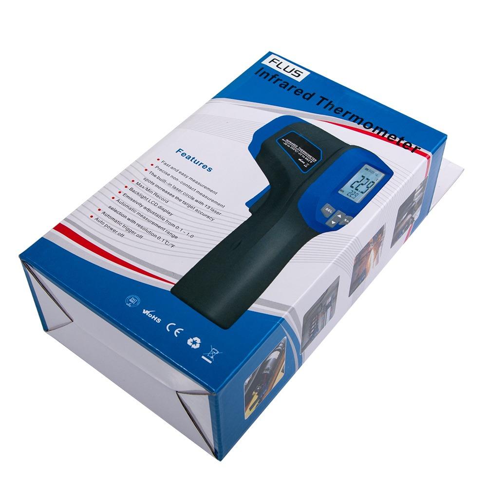 Инфракрасный термометр - пирометр Flus IR-828 (-30…+850) - 4
