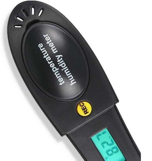 USB даталоггер - реєстратор температури і вологості HT-161 Xintest - 4