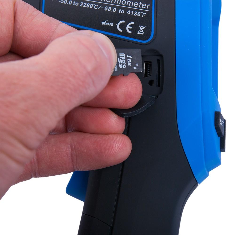 Инфракрасный термометр - пирометр FLUS IR-867 (-50…+1180) - 6