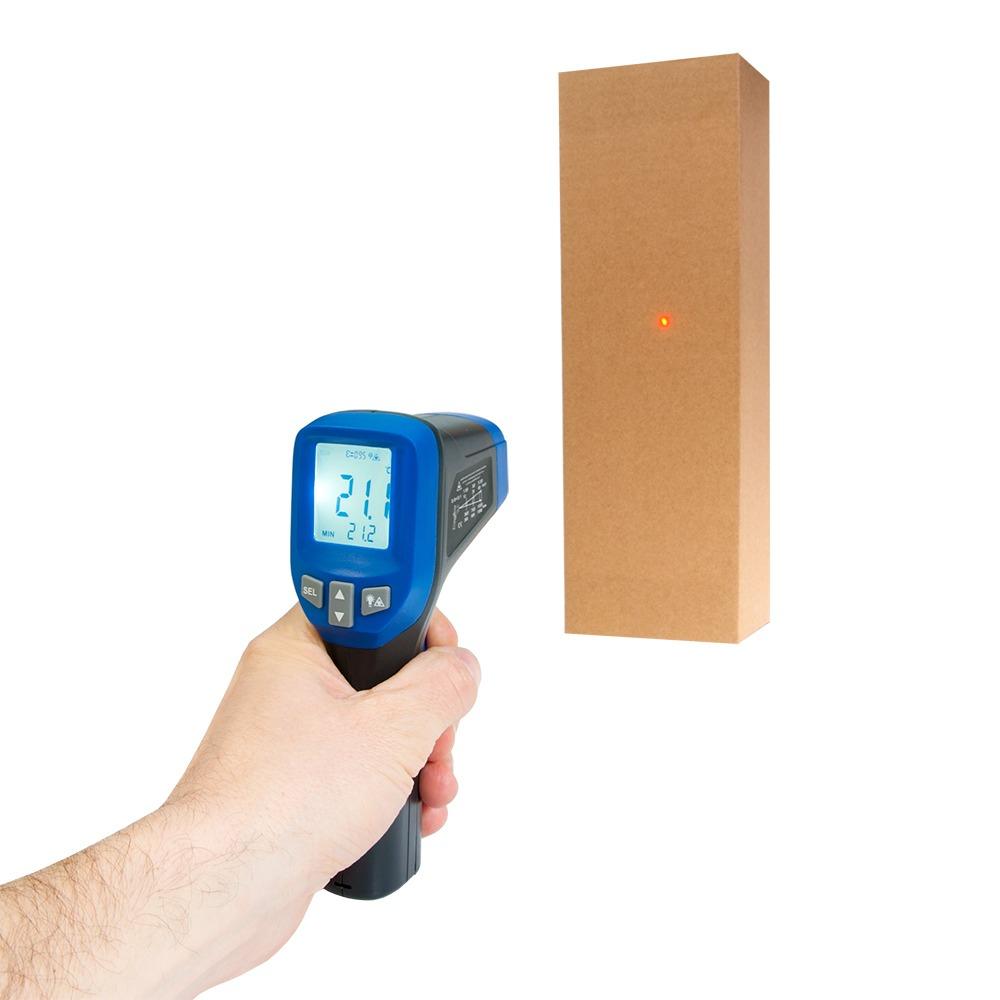 Інфрачервоний термометр - пірометр Flus IR-827 (-30...+550) - 2