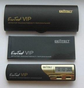 """Детектор радиоактивности бытовой Ecotest """"VIP"""" - 6"""