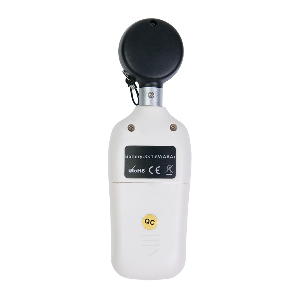 Мини люксметр - термометр MT-912 FLUS с цветным дисплеем - 1
