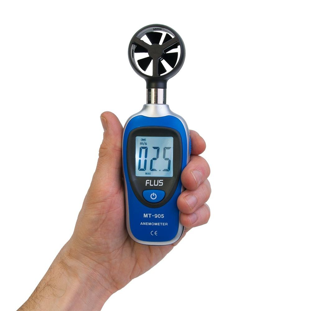 Мини анемометр FLUS MT-905 - 3