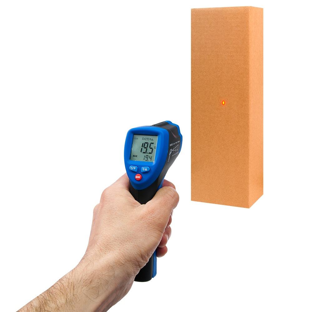Інфрачервоний термометр - пірометр Flus IR-809 (-50...+1050) - 2