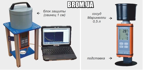 Дозиметр-радиометр МКС-АТ1125А АТОМТЕХ  (Измерение Удельной Активности, Бк/кг) - 1