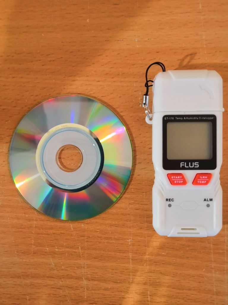 """Даталоггер - регистратор температуры и влажности Flus """"ET-176"""" - 3"""