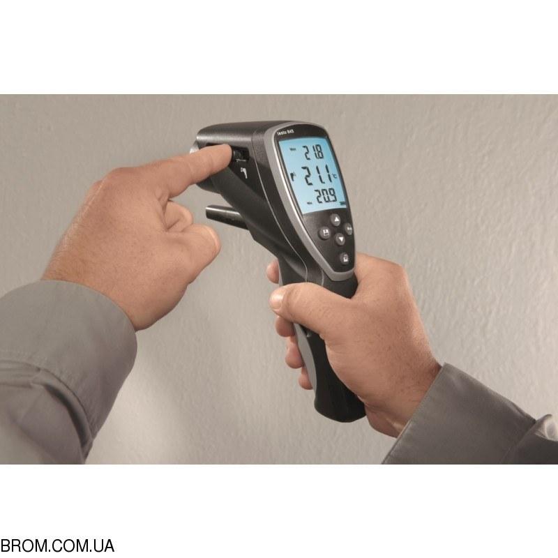 Инфракрасный термометр - пирометр testo 845 (-35...+950) с модулем влажности - 5