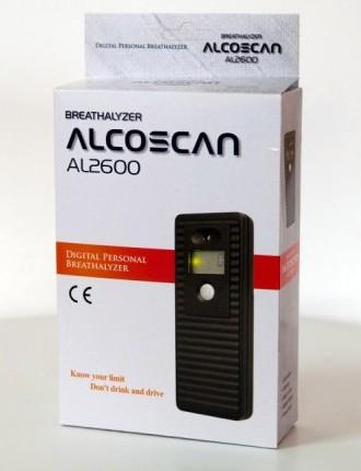 "Алкотестер ""Alcoscan AL-2600"" - 3"
