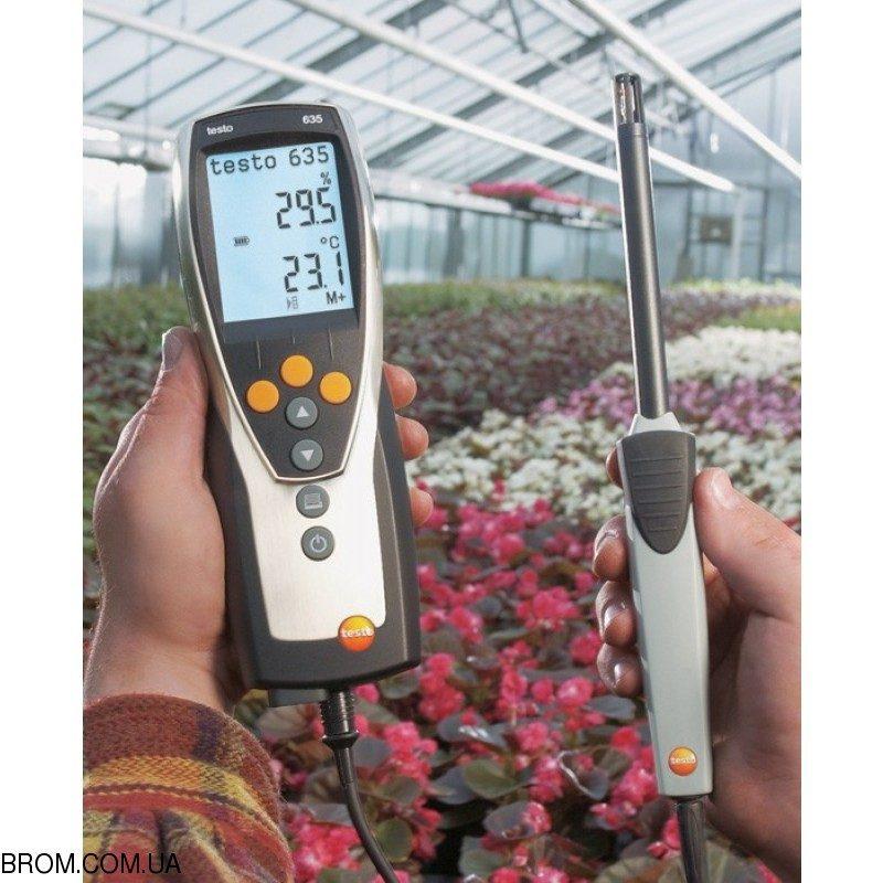 Термогигрометр testo 635-1 комплект - 2