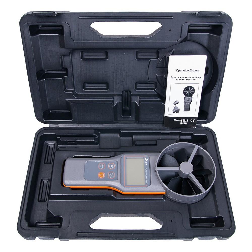 Анемометр-аналізатор AZ-8919 (СО2, RH, точка роси, WBGT) - 4