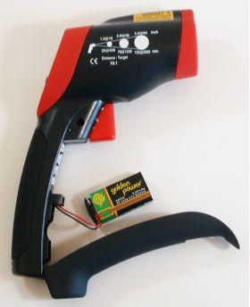 Инфракрасный термометр - пирометр CEM DT-8828 (-50…+1000)  - 2