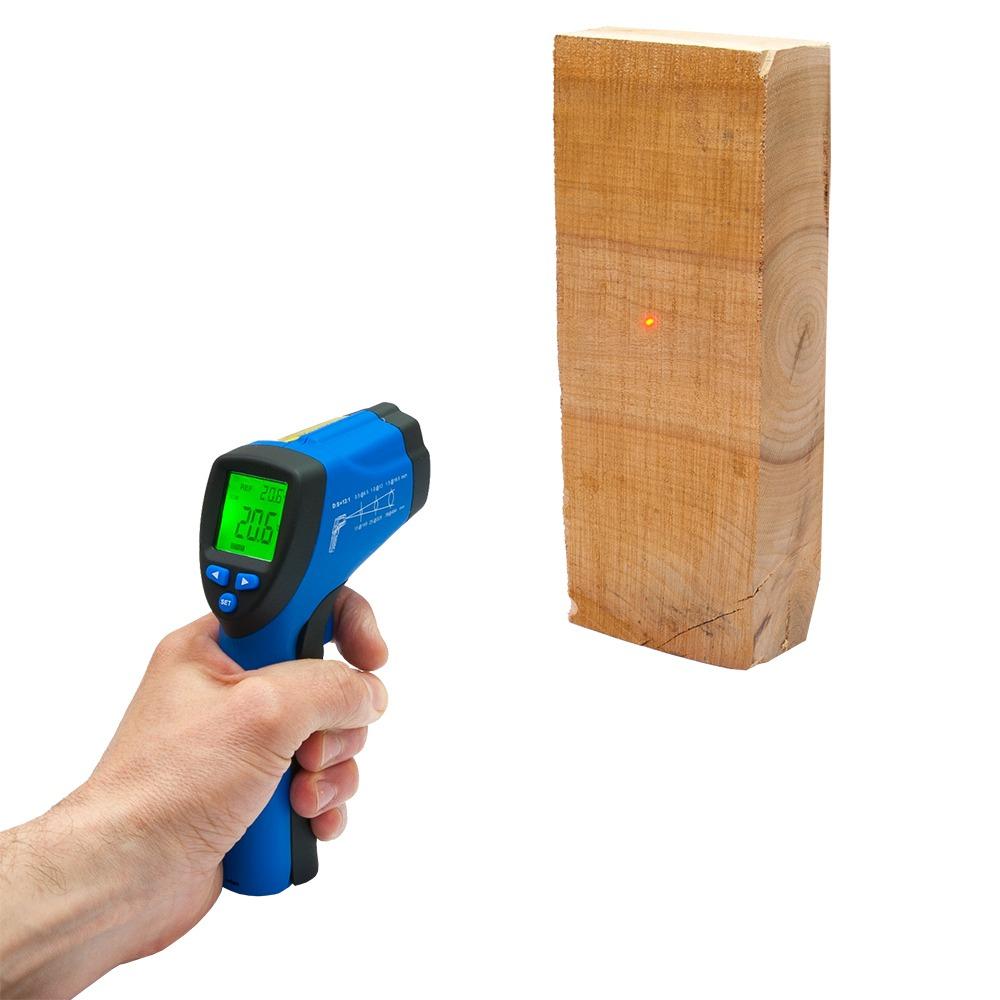 Инфракрасный термометр - пирометр Flus IR-813 (-50…+580) - 2