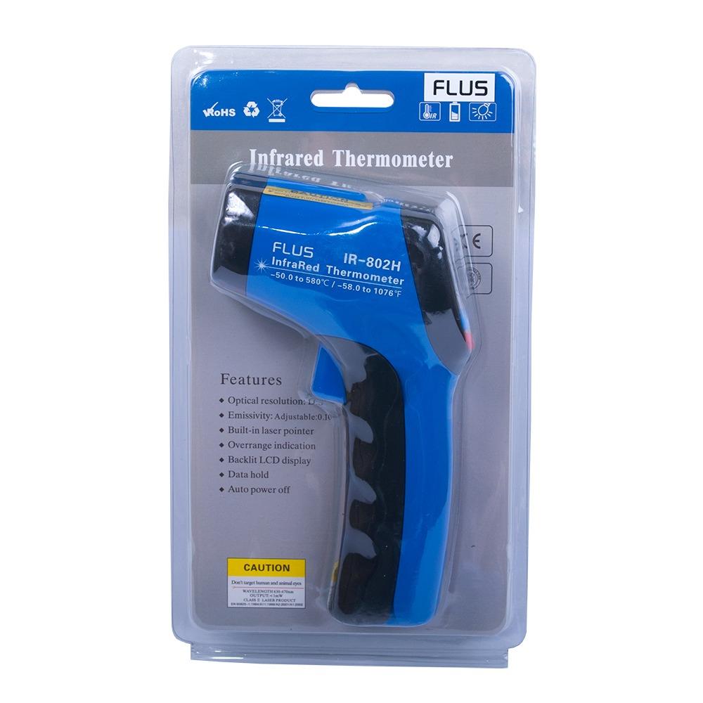 Инфракрасный термометр - пирометр Flus IR-802H (-50…+550) - 3