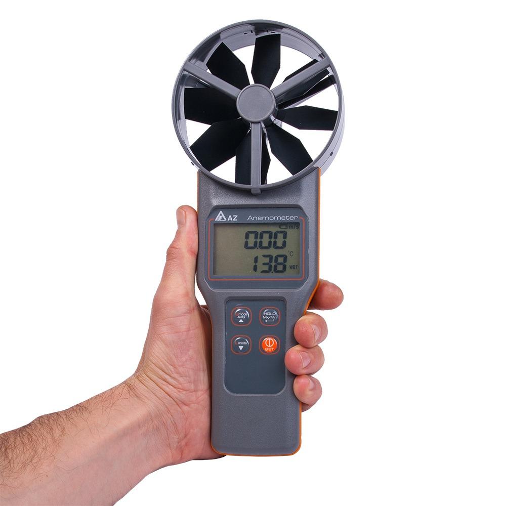 Анемометр-аналізатор AZ-8919 (СО2, RH, точка роси, WBGT) - 3