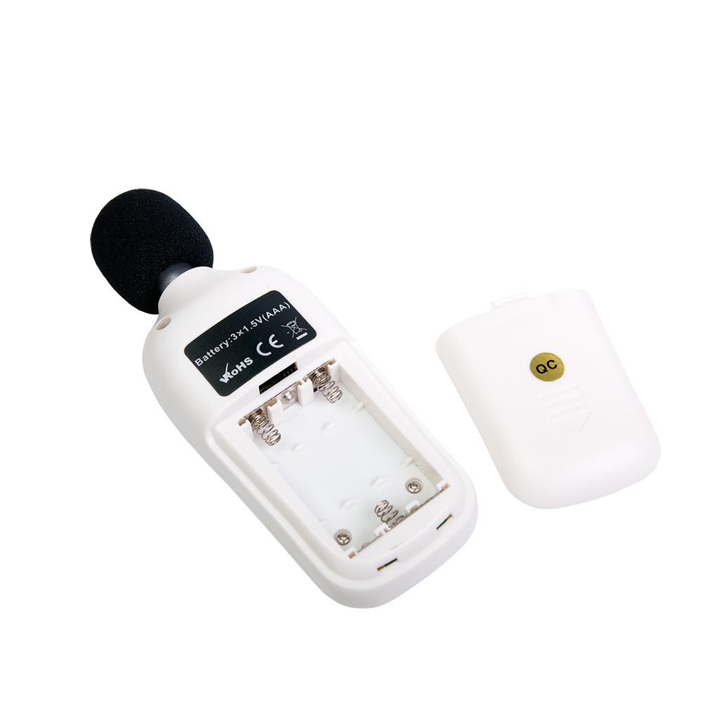"""Шумомір з термометром Flus """"MT-911A"""" (dBA, 35...135 дБ, ±2 дБ, 32...8000 Гц) - 2"""