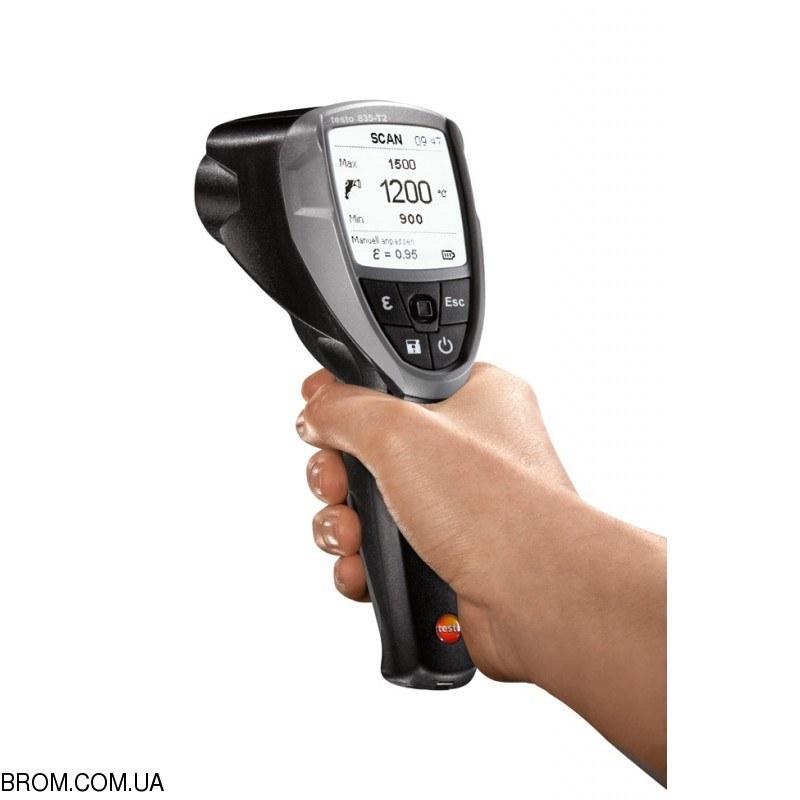 Инфракрасный термометр - пирометр testo 835-T2 (-10...+1500) - 2