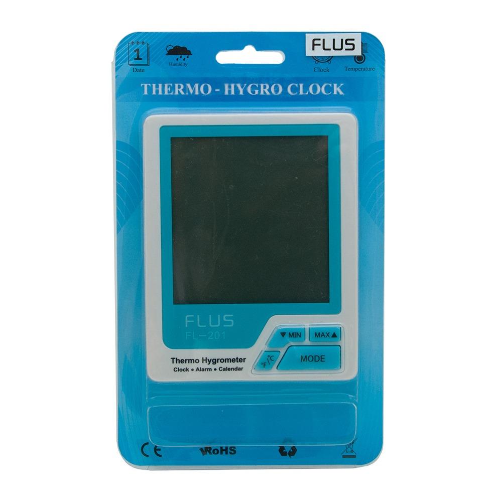 """Термогигрометр бытовой Flus """"FL-201"""" - 3"""