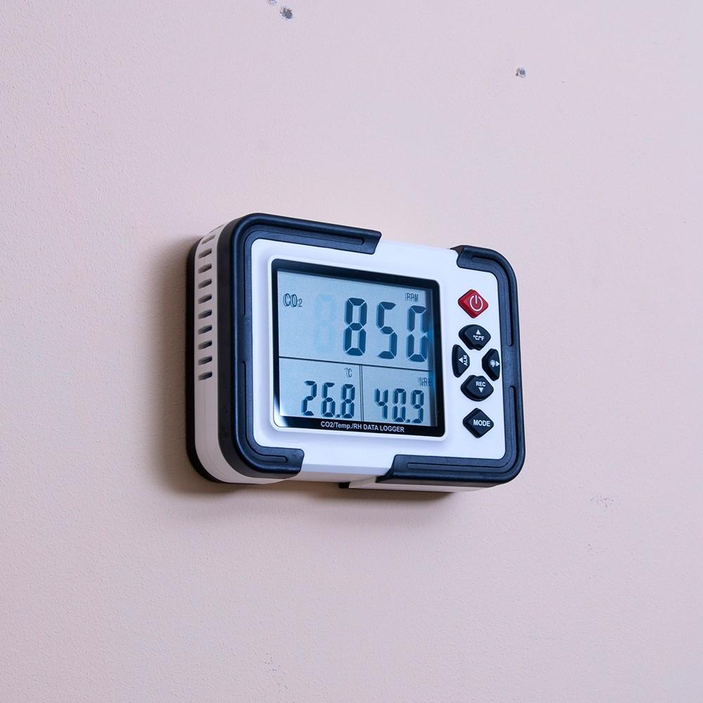 Детектор - сигналізатор CO2 - термогігрометр - логгер HT-2000 - 3