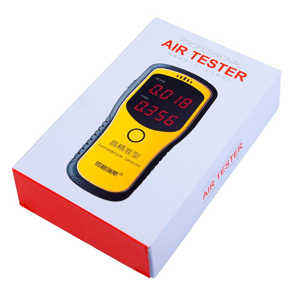 Цифровой детектор формальдегида + анализатор качества воздуха WP6900 - 4