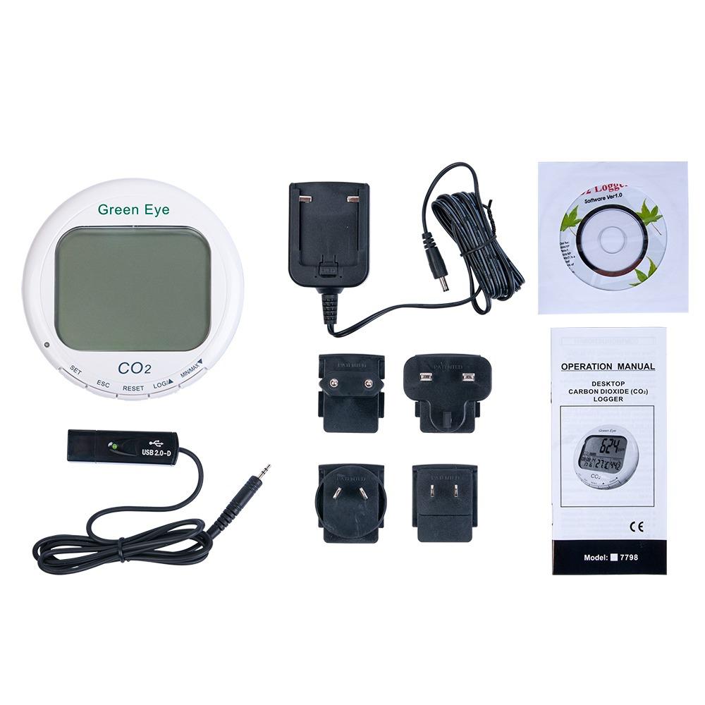 СО2 Монитор/термогигрометр-контроллер AZ-7798 - 3