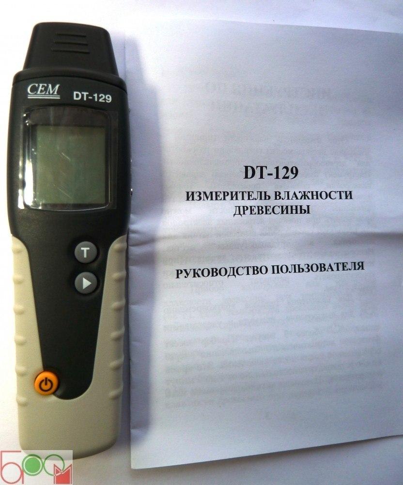 Влагомер древесины CEM DT-129/EXOTEK MC-410 - 2