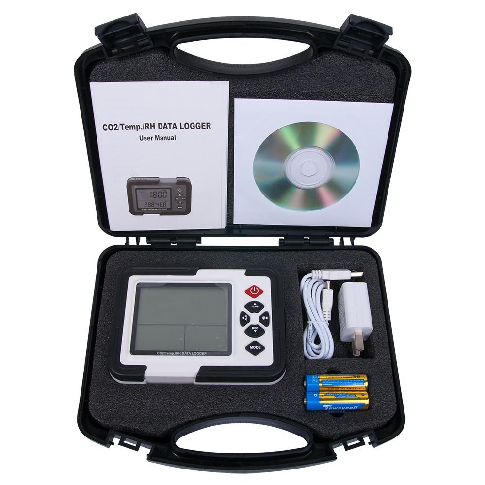 Детектор - сигналізатор CO2 - термогігрометр - логгер HT-2000 - 4