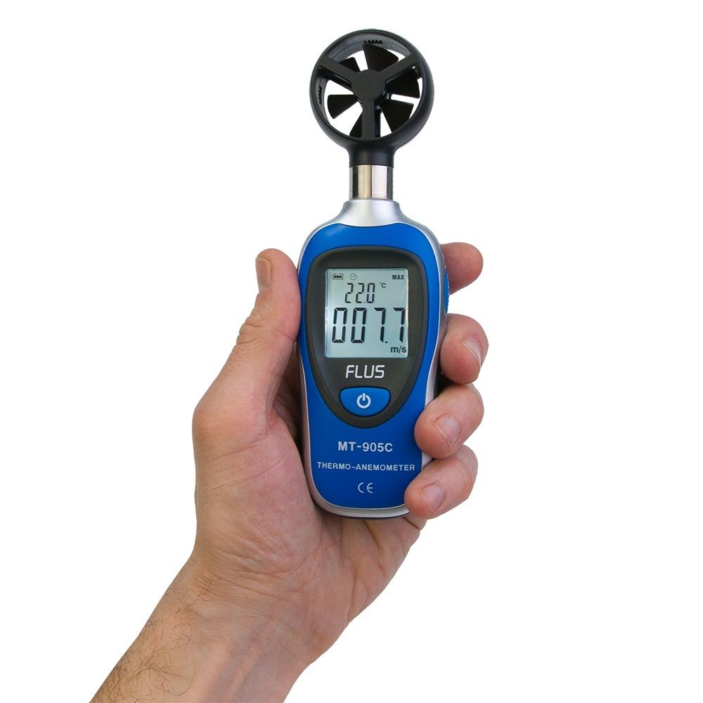 """Мини анемометр Flus """"MT-905C"""" (0,4 ... 30 м/с) - 3"""
