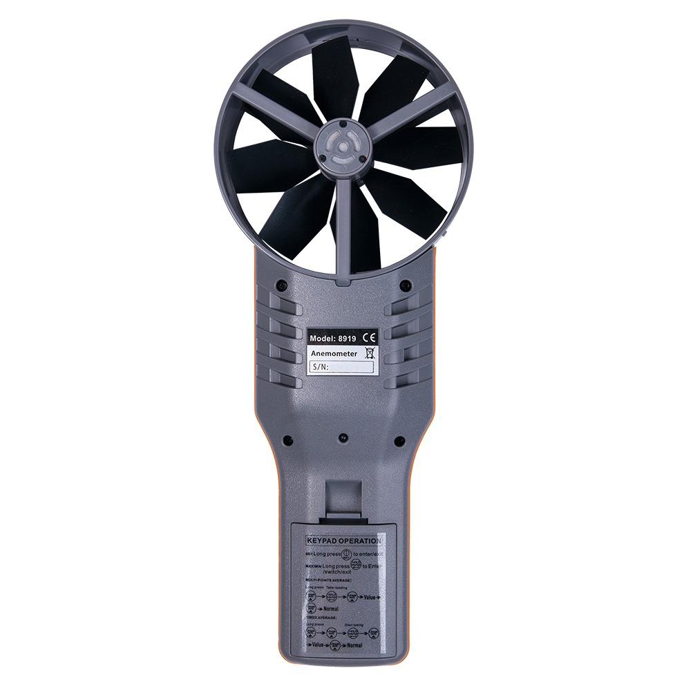 Анемометр-аналізатор AZ-8919 (СО2, RH, точка роси, WBGT) - 1
