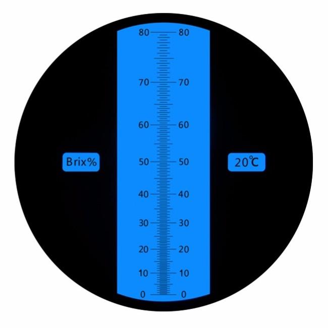 """Рефрактометр для цукру, ЗОР (0…80% Brix) """"HT118"""" - 2"""