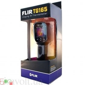 Інфрачервоний тепловізор - пірометр FLIR TG165 (-25...380 ºС) - 2