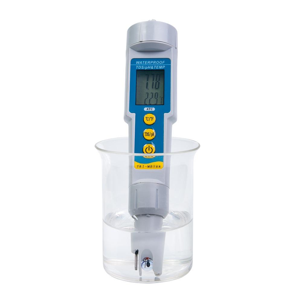 Анализатор воды TDS/рН/Temp-метр BROM pH/TDS-986 - 4