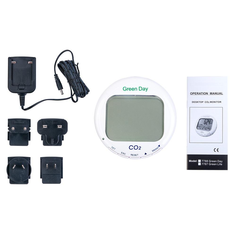 СО2 Монитор/термогигрометр-контроллер AZ-7788 - 3