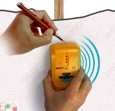 Багатофункціональний тестер TS-73 (детектор напруги, прихованої проводки, балок в стіні) - 6