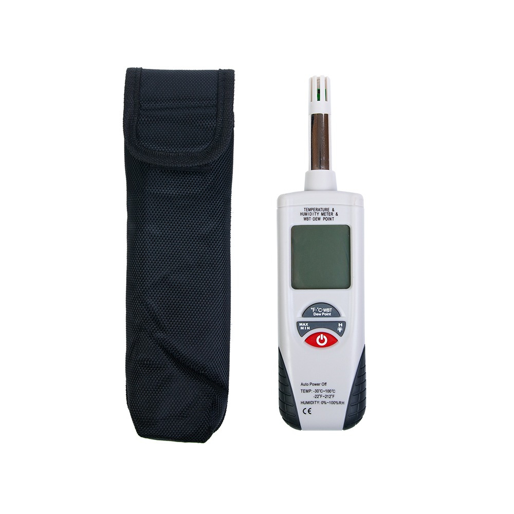 Профессиональный термогигрометр HT-350 (точка росы и влажный термометр) - 4