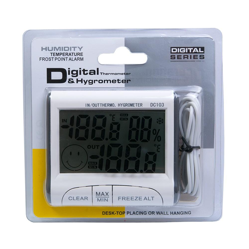 """Термогигрометр с выносным датчиком """"DC-103"""" - 3"""