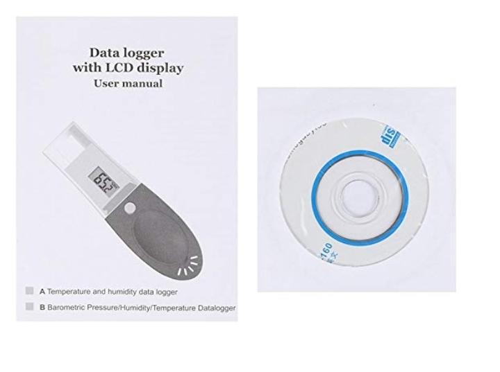 USB даталоггер - реєстратор температури і вологості HT-161 Xintest - 13